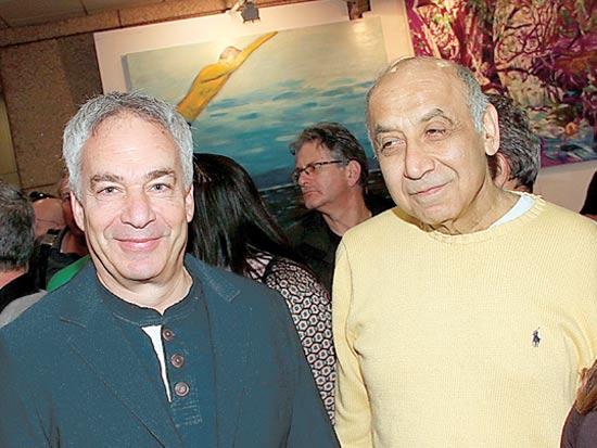 יצחק סוארי וארז ויגודמן / צילום: יוסי כהן