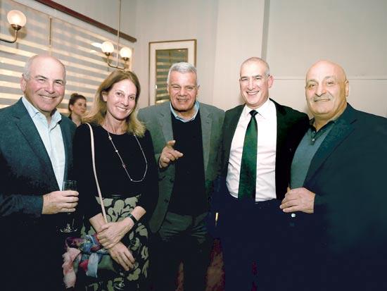 יוסי אברהמי, דיויד כהן, משה טרי, ג'ודית והנרי טייק / צילום: עדי כהן צדק