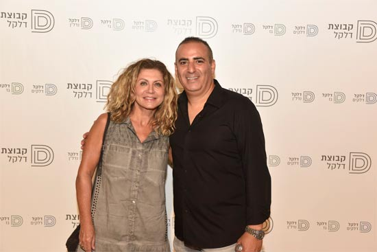 יניב כהן ואסתר אלדן  / צילום:מורג ביטן