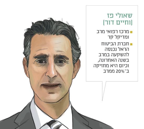שאולי פז (וחיים דור)  / איור: אביעד סייביץ'