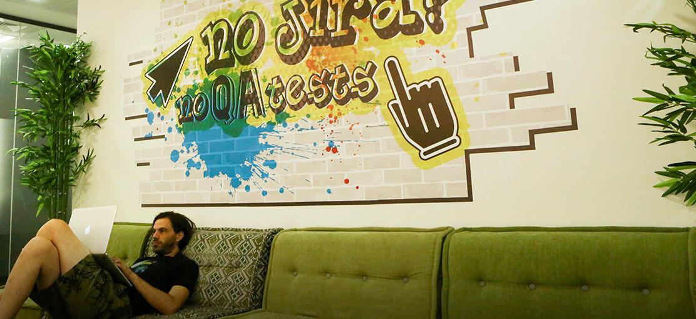 סטארטאפים - jfrog-office-3 / צילום: שלומי יוסף