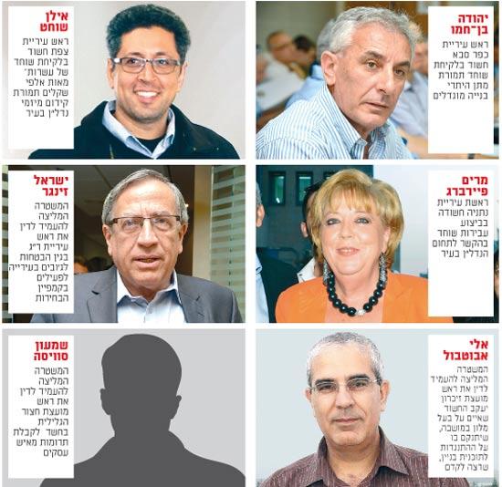 ראש עיריית כפר סבא ובכירים / צילומים: ערן גילווארג, תמר מצפי, עידו ארז
