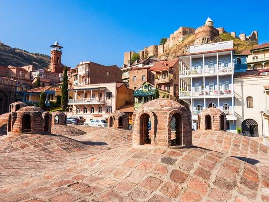 מצודת נרחלה בטביליסי/ צילום:  Shutterstock/ א.ס.א.פ קרייטיב