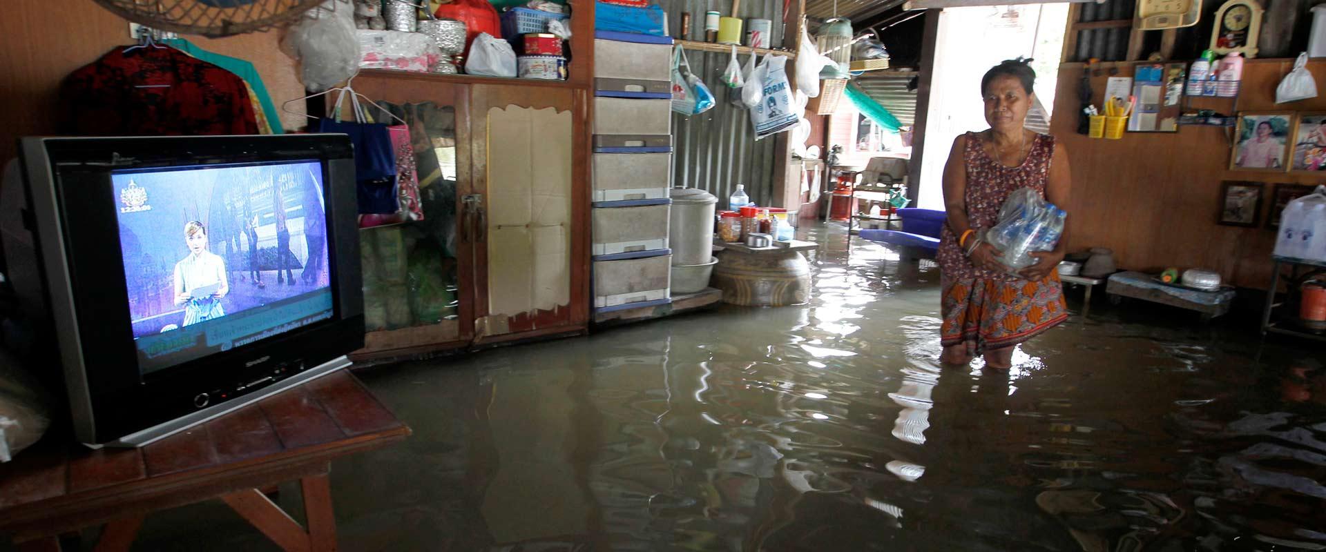 מונסון בתאילנד / צילום: רויטרס