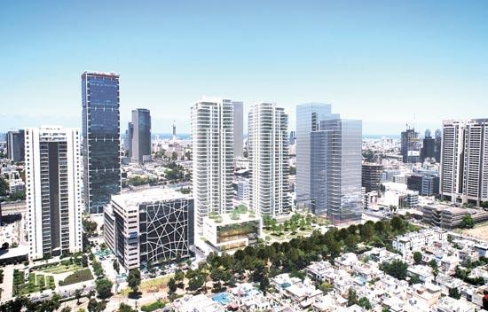 פרוייקט הסוללים / הדמיה: החברה הכלכלית ירושלים