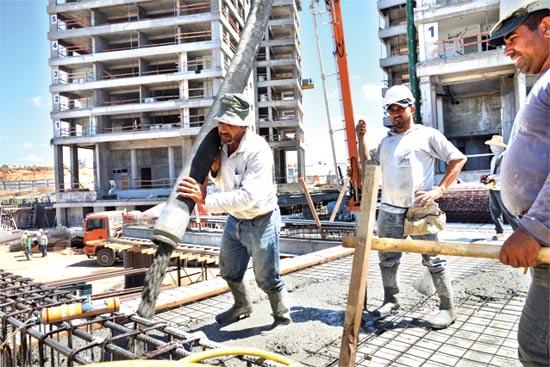 פועלי בניין / צילום: תמר מצפי