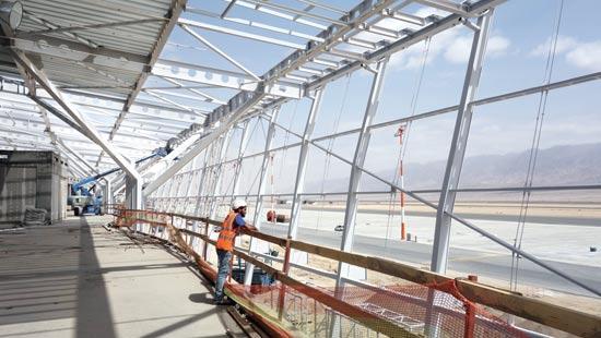 שדה התעופה רמון / צילום: מן שנער אדריכלים