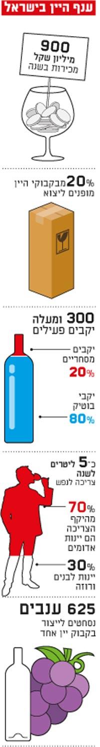 ענף היין בישראל