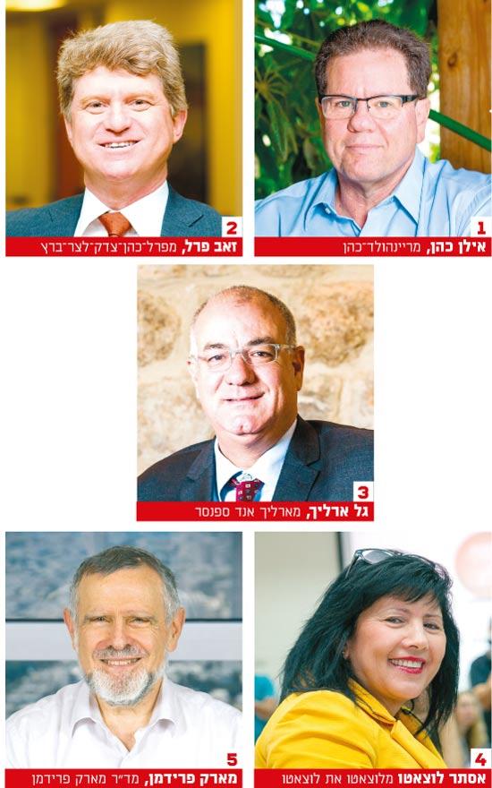 דירוג Dun's 100  משרד ריינהולד-כהן / צילומים: שלומי יוסף, תומר יעקובסון ואלון רון