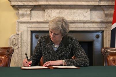 ראשת הממשלה תרזה מיי / צילום: רויטרס