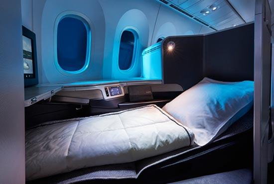 סוויטות שינה מפנקות באייר קנדה/ קרדיט תמונות: אתר aircanada.com