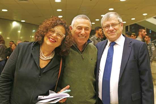 ראובן שיף ודורון ודידי אלמוג / צילום: ליאור אולפני
