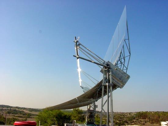"""מתקן תרמו-סולארי של סולל / צילום: יח""""צ"""