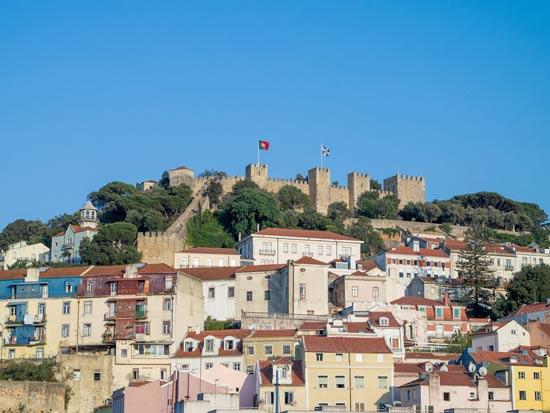 מצודת סאו ג'ורג, ליסבון/ צילום:  Shutterstock/ א.ס.א.פ קרייטיב