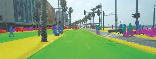 מערכת איסוף ועיבוד מידע לרכב   / צילום :באדיבות המשרד  street