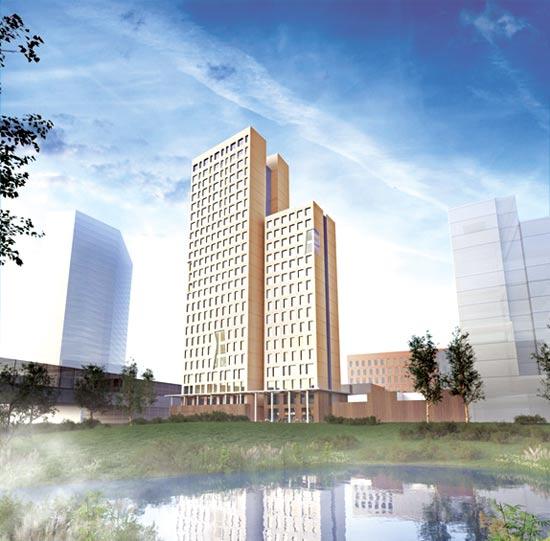 בניין HoHo, וינה / הדמיה: RLP Rudiger Lainer Partner
