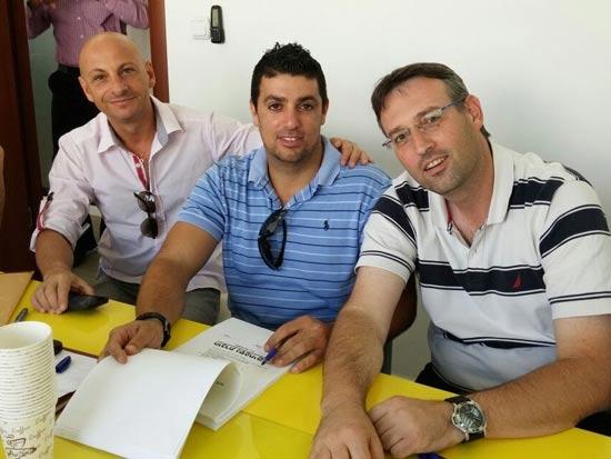 """יגאל ברוקס רונן גמינדר ומשה שבח שותפים בחברה / צילום: יח""""צ, באדיבות החברה"""