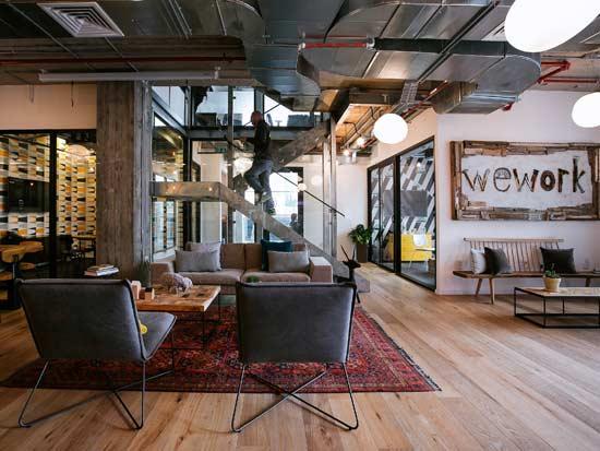 WeWork משרדים מוכנים במידות יותר קטנות / צילום: שירן כרמל