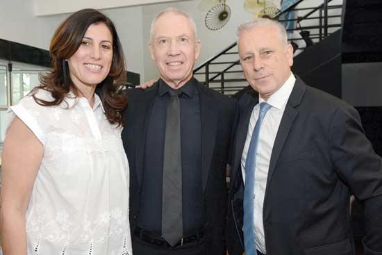 ערן סיב, יואב גלנט ואתי ויצמן/ צילום: up Studio