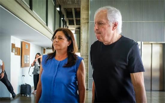 שאול ואיריס אלוביץ' / צילום: שלומי יוסף