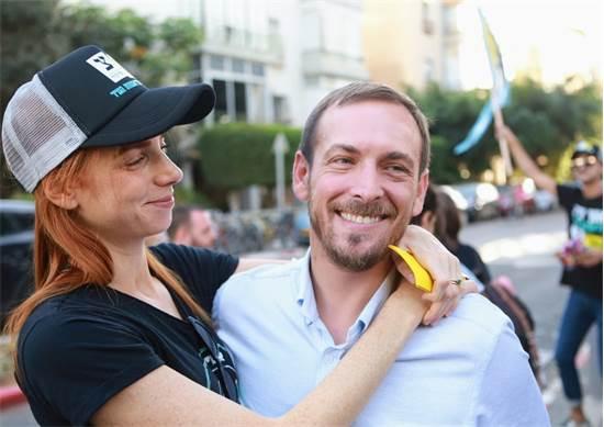 אסף זמיר ואישתו מאיה ורטהיימר / צילום: שלומי יוסף
