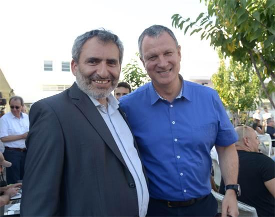 אראל מרגלית וזאב אלקין / צילום: ליאת מנדל