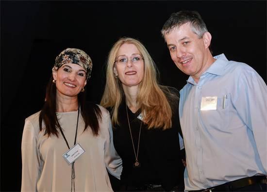 מימין: יואב פרידן, אורית גור כהן ואביגיל סאמין / צילום: שלומי יוסף