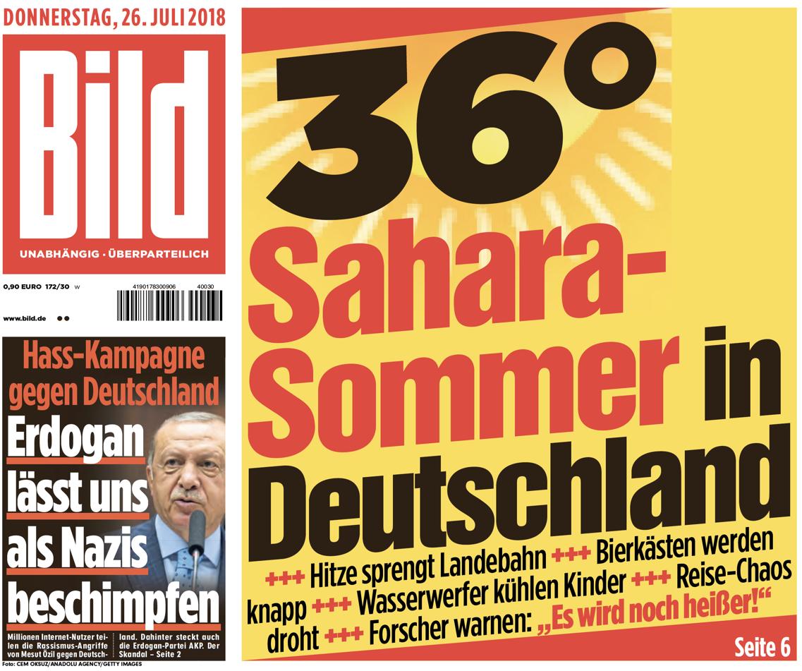 """""""בילד"""": הסהרה הגיעה לגרמניה"""