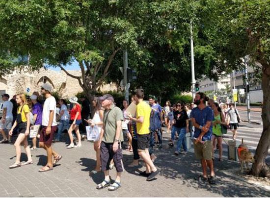 מחאת הפונדקאות/ צילום :אבירם בלומנקרנץ