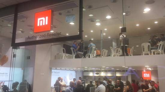 פתיחת חנות שיאומי / צילום: מיכל רז חיימוביץ