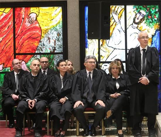 השבעת השופטים החדשים / צילום: שלומי יוסף