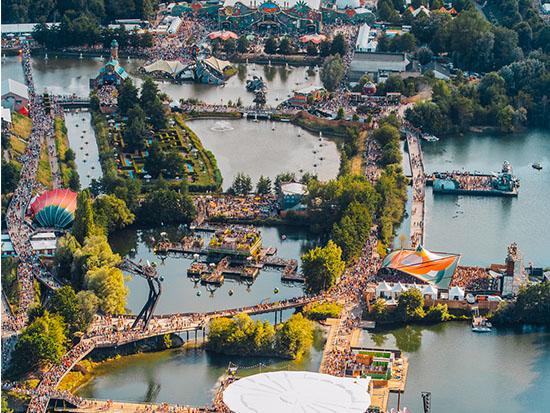 מתחם הפסטיבל / צילום: באדיבות Tomorrowland__Dave_Sips