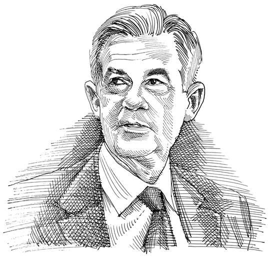 ג'רום פאואל / איור: גיל ג'יבלי