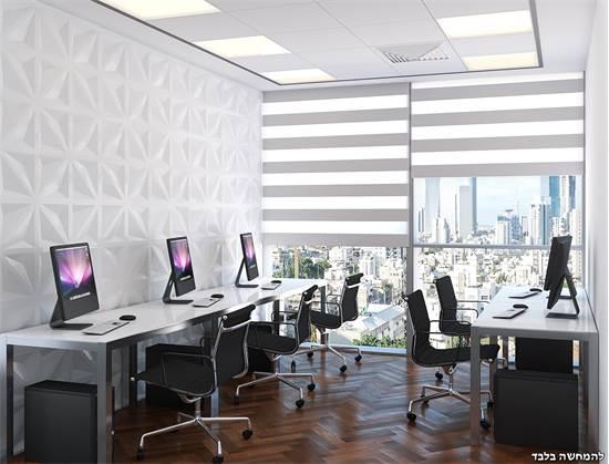 עסק יכול להגיע לחיסכון של אלפי שקלים בחודש/הדמיה: אדריכלית אלונה כדורי