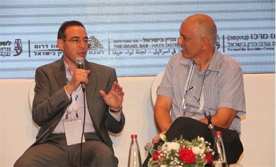 חיים רביה ואלון בכר / צילום: ליאב פלד
