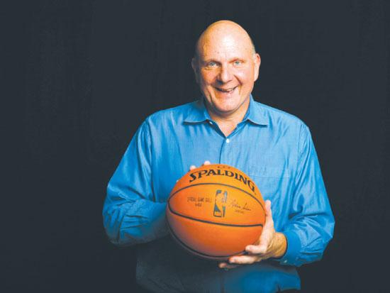 סטיב באלמר / צילום:  NBA Lucy-Nicholso