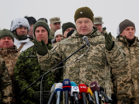 נשיא אוקראינה פטרו פרושנקו / צילום: רויטרס Valentyn Ogirenko
