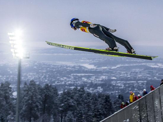 קפיצת סקי / צילום: רויטרס