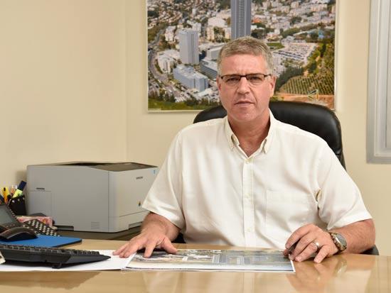 """שגיא ניב. מנכ""""ל קרית עתידים צילום: ישראל מלובני"""