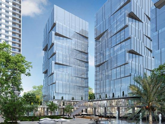 מגדל העסקים Peri Business Place  | הדמיה: סטודיו AA