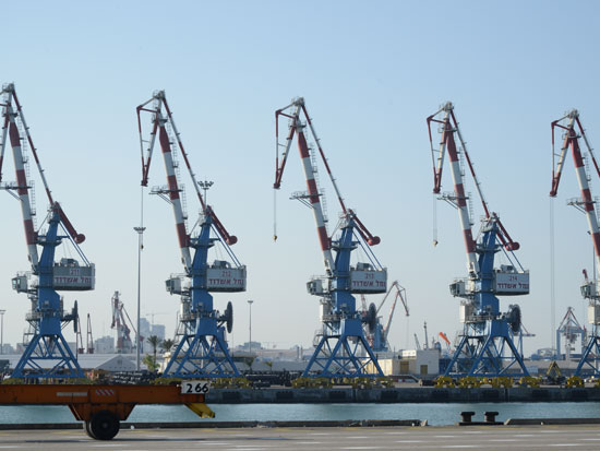 נמל אשדוד/ צילום: איל יצהר