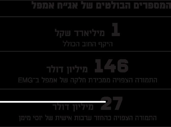 """המספרים הבולטים של אג""""ח אמפל"""