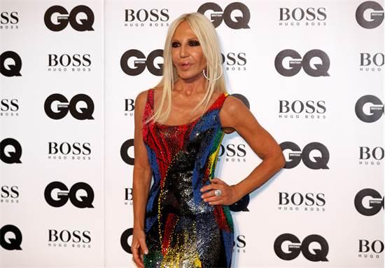 מעצבת האופנה דונטלה ורסאצ'ה, ספטמבר 2018 / צילום: רויטרס