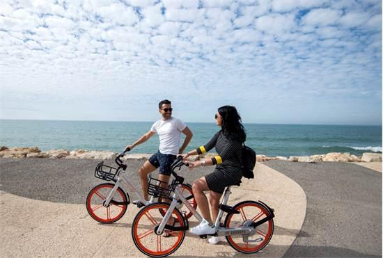 """אופני מובייק/ צילום: יח""""צ"""