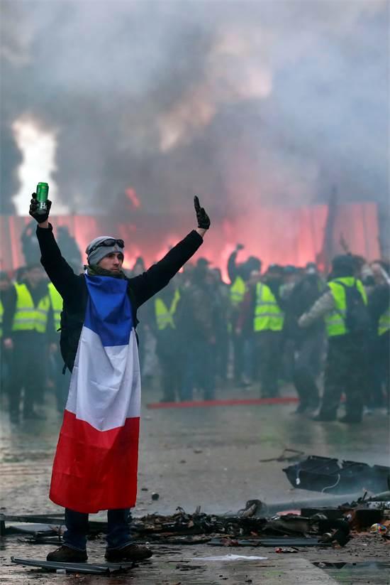 הפגנות בצרפת / רויטרס