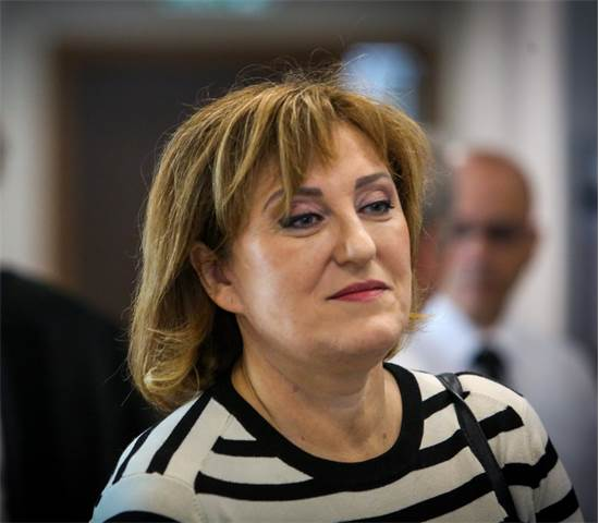 פאינה קירשנבאום בבית המשפט / צילום: שלומי יוסף
