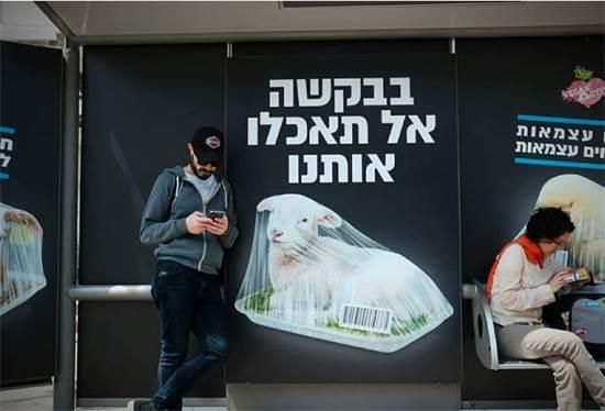קמפיין צמחונות לקראת יום העצמאות / צילום: שלומי יוסף