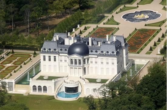 Chateau Louis XIV, שנמצאת ליד פריז ובבעלותו של הנסיך מוחמד / צילום: רויטרס