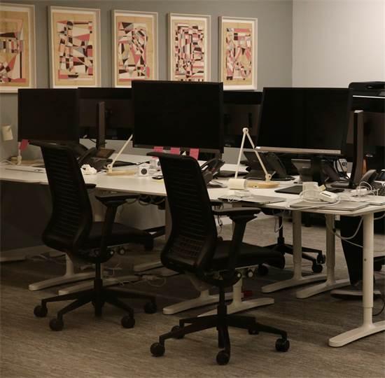 משרדי קיימברידג' אנליטיקה הריקים / צילום: לאה מיליס, רויטרס