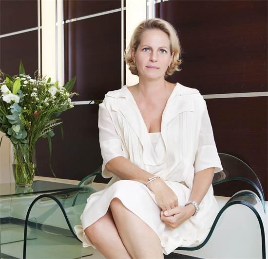 """יו""""ר קרן קיסריה, הברונית אריאן דה רוטשילד / צילום: ענבל מרמרי"""